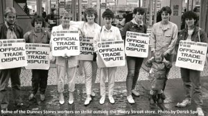 Dunnes Stores Strikers in 1984
