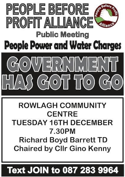 ROWLAGH PUB MEETING