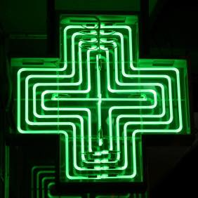 green_neon_cross